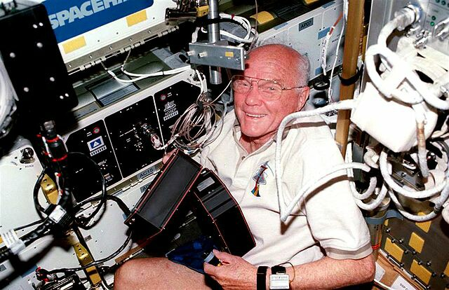 What can we learn about serving leadership from John Glenn?